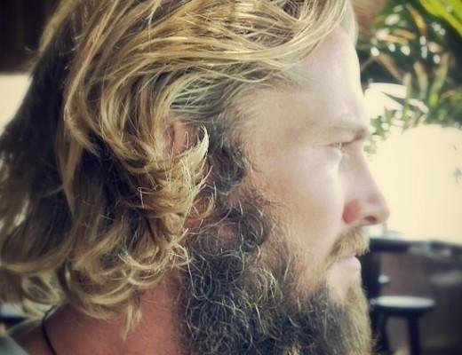 Jamie with current beard