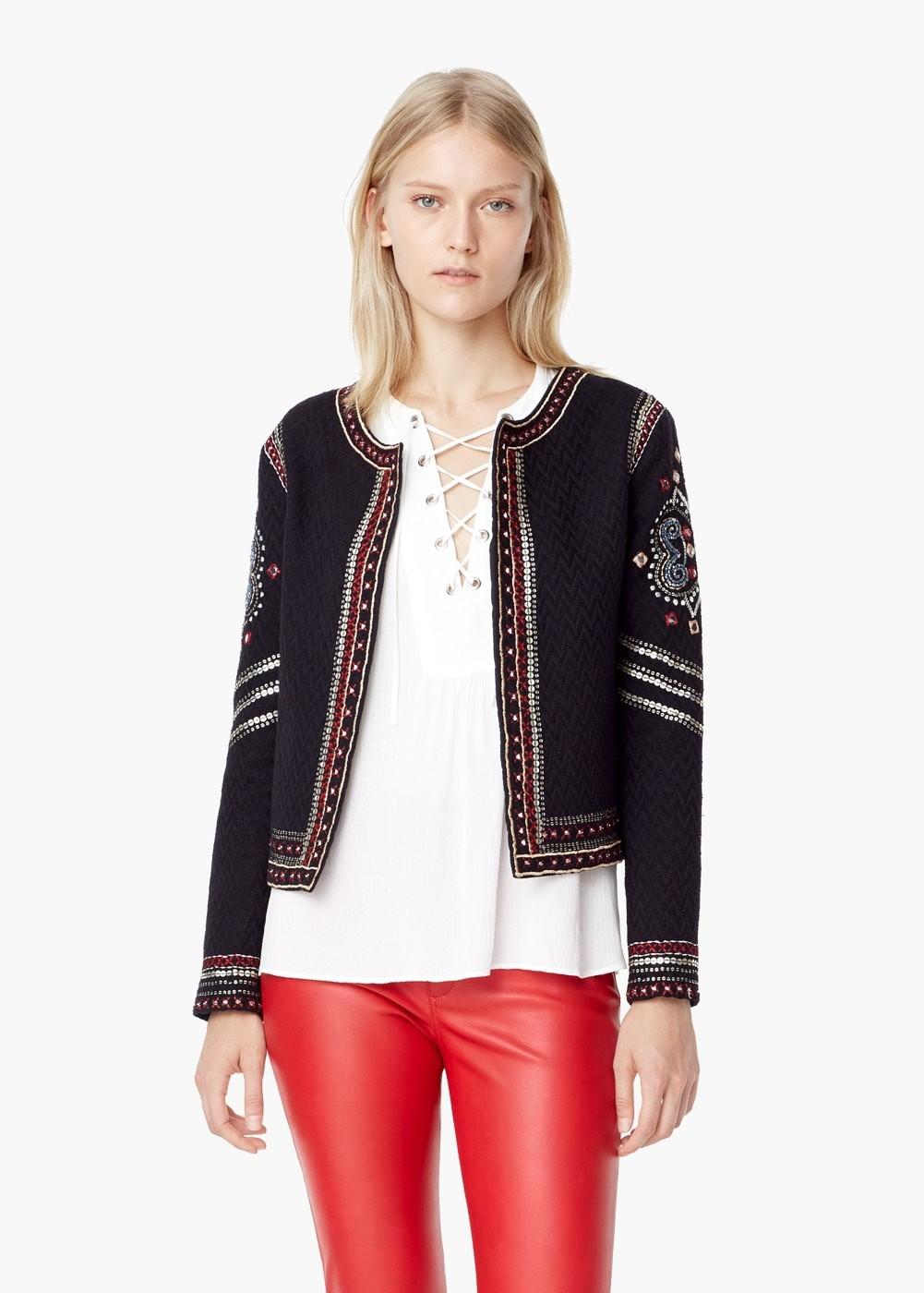 Embroidered jackets the london mummy