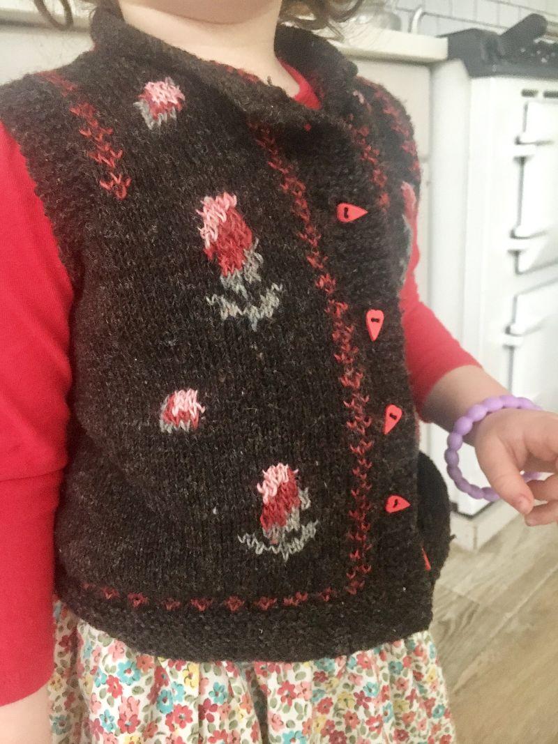 NZ Wool Gilet