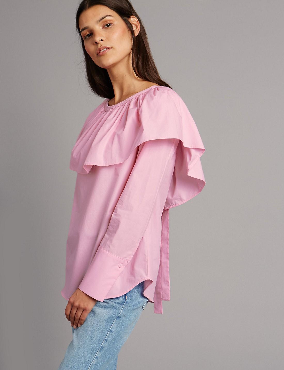 poplin blouse