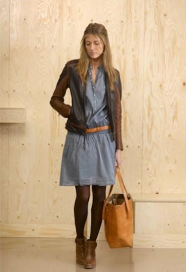 denim-shirt-dress-in-winter