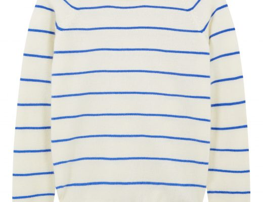 Ladies Stripe Cashmere Jumper