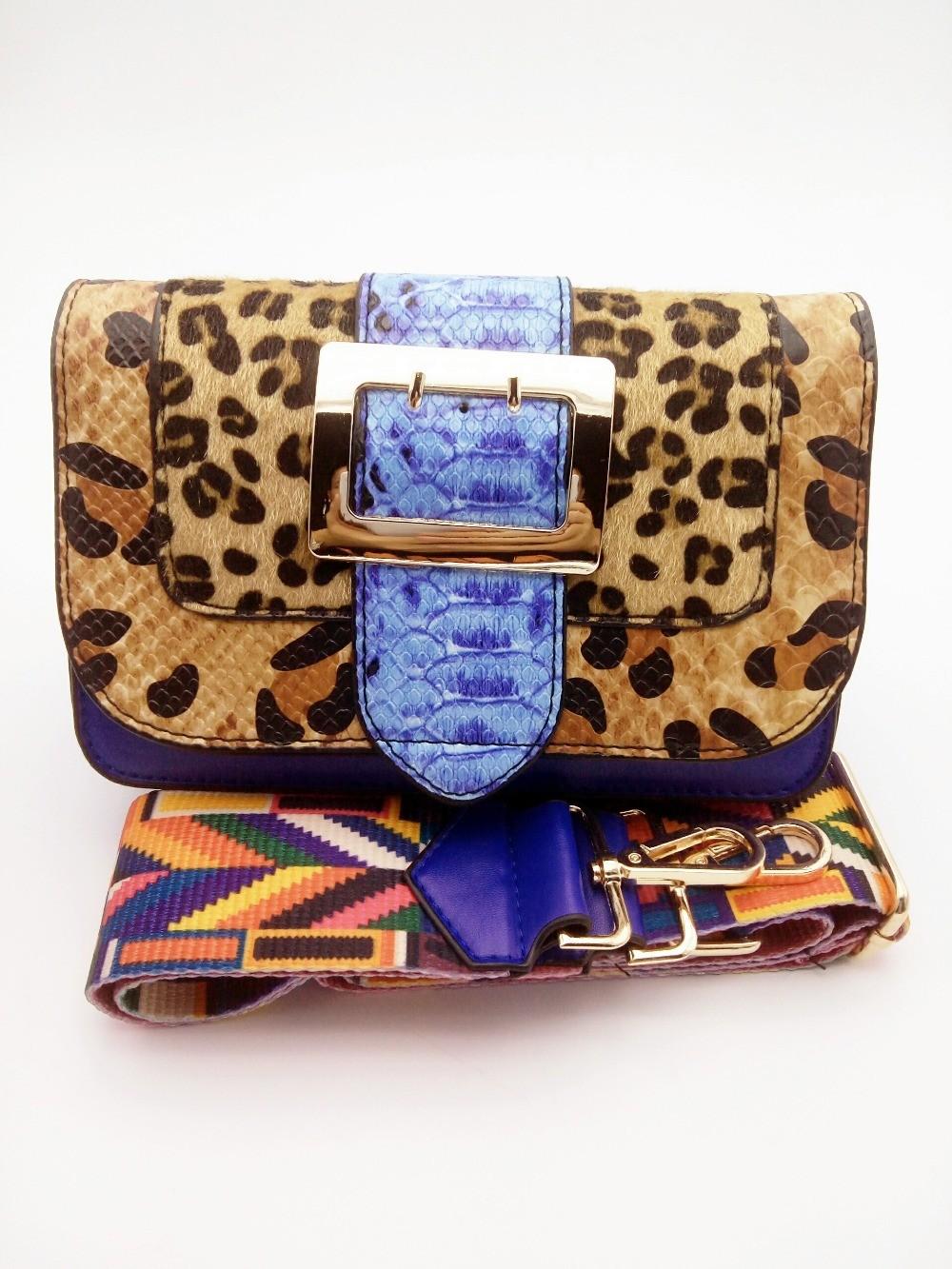 Leopard Messenger Bag