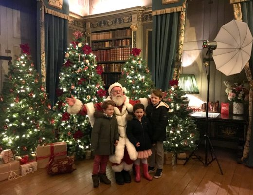 Father Christmas at Warwick castle