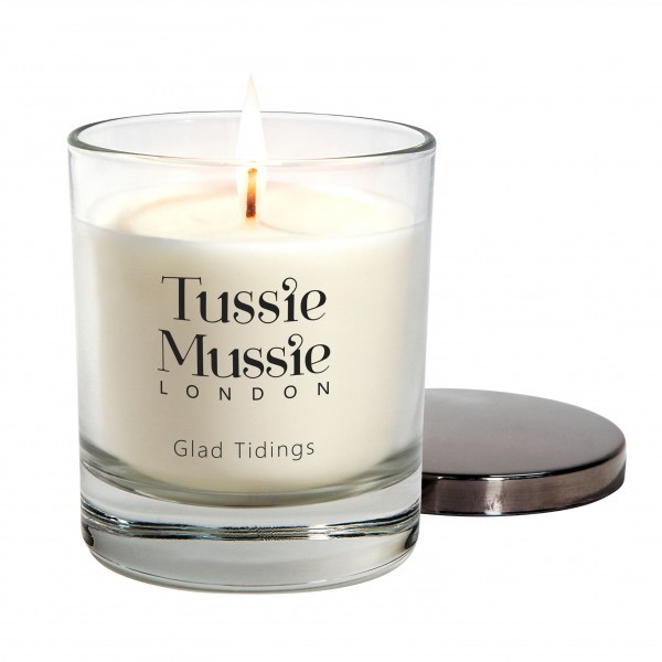 Glad tidings scented candle