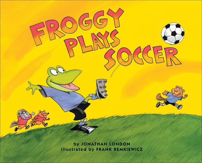 Froggy Plays Football