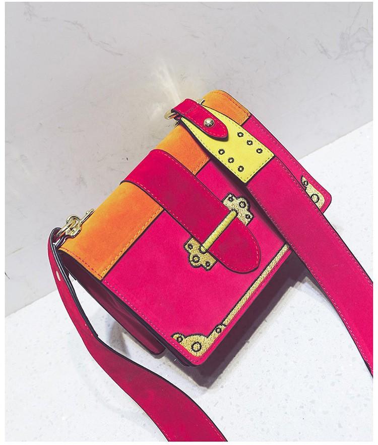 Colour Pop Messenger Bag