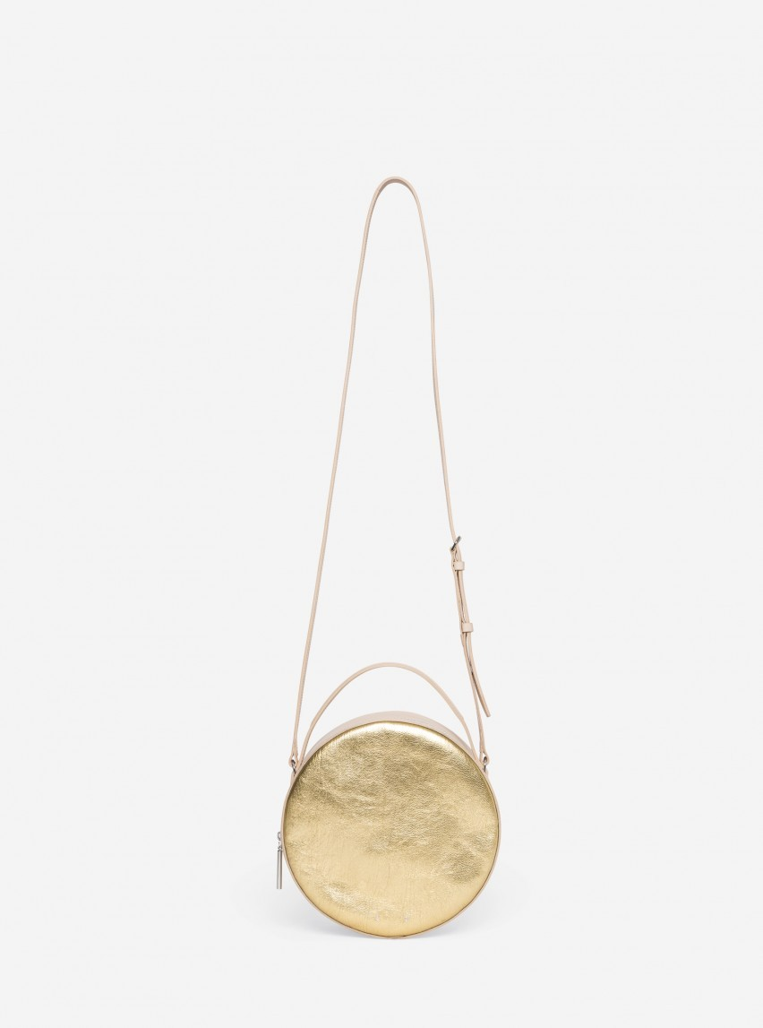 Natural Gold Shoulder Bag