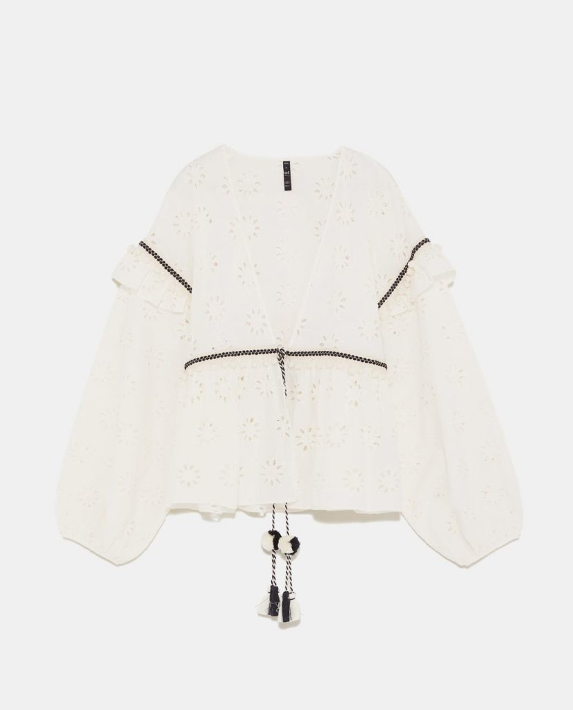 Cutwork Overshirt