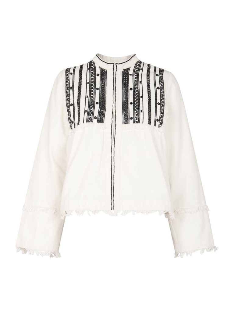 Whistles Embroidered Jacket