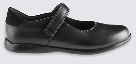 Leather T Bar Shoes