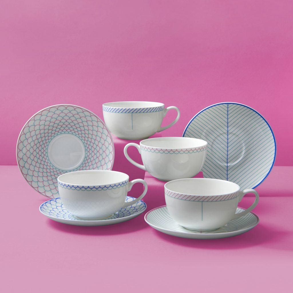 cups-and-saucers-on-pink