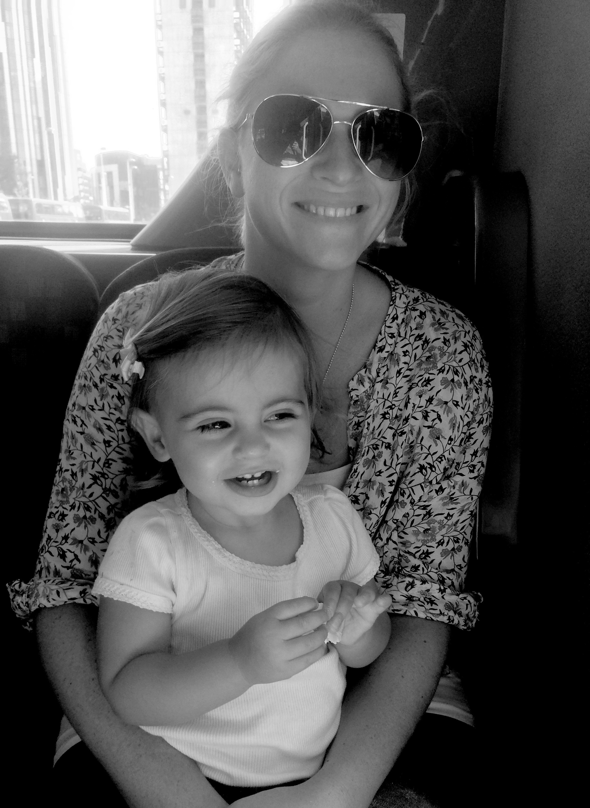 Laura with little Olivia