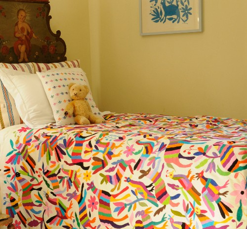 childs bed throw
