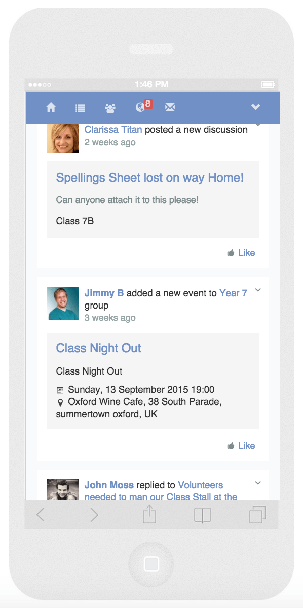 classlist_Home_Page_iPhone6