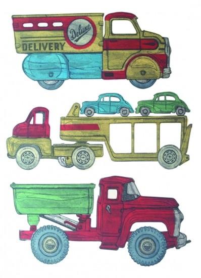 Barry Goodman - Tin Trucks
