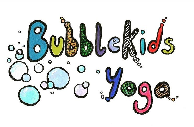 Bubble kid yoga