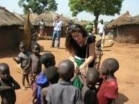 Lucinda in Africa