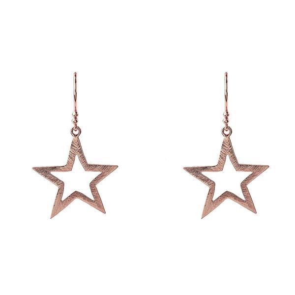 Open Star Earrings