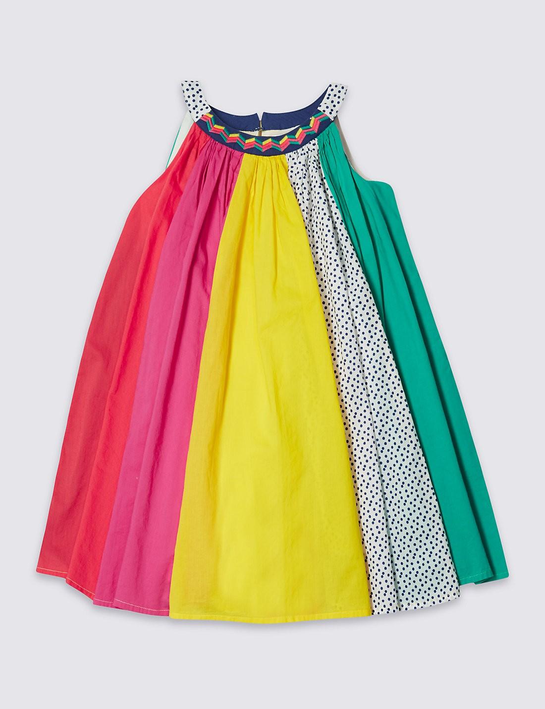 Cotton Rich Twill Dress