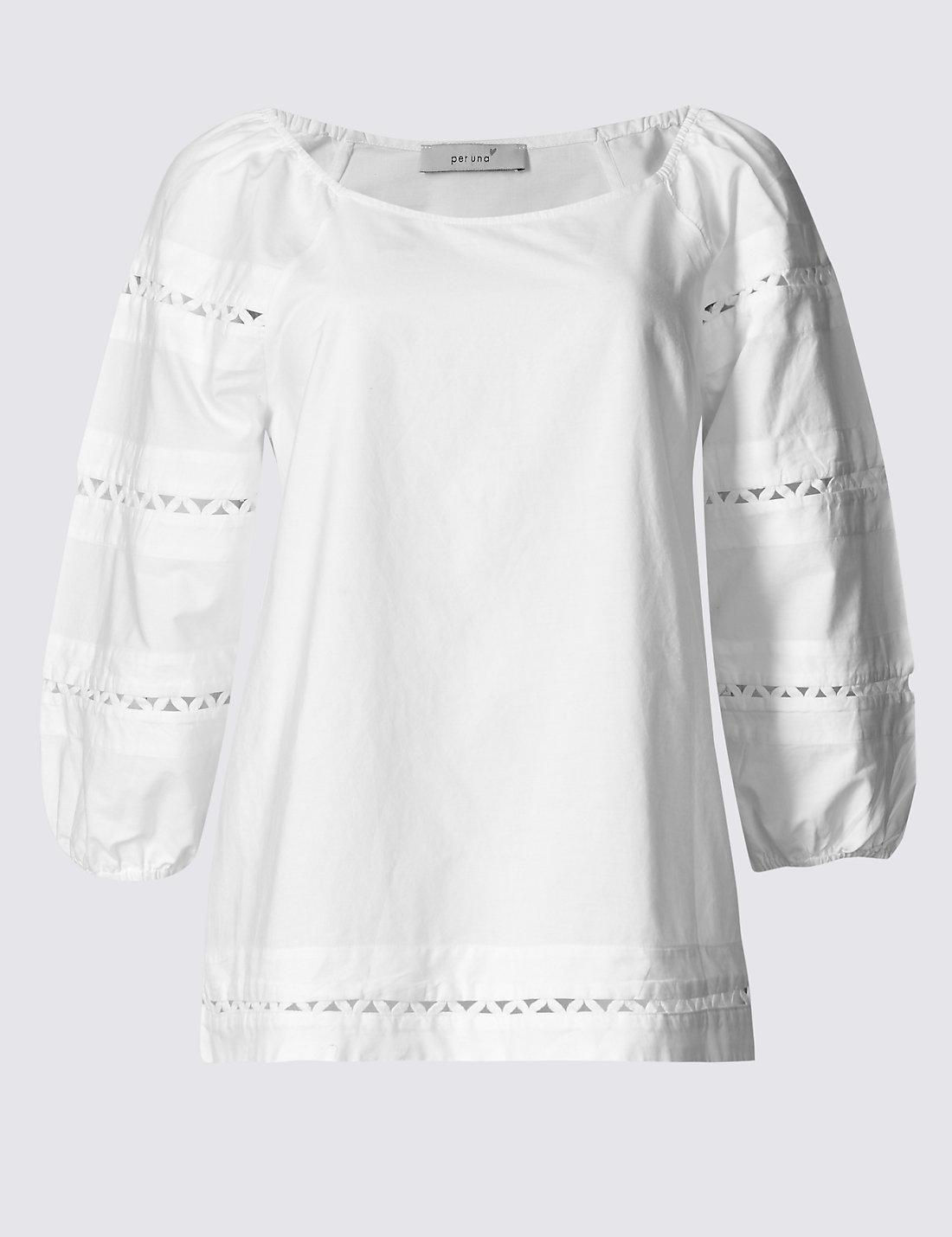 white stitch top
