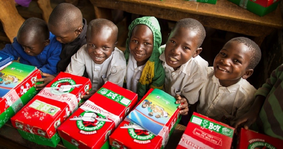 Operation Christmas Child Festive
