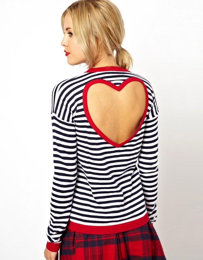 Heart Backed T Shirt