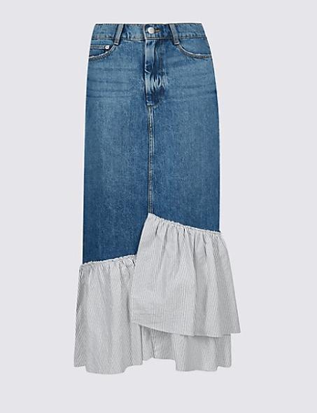 Marks Frill Skirt