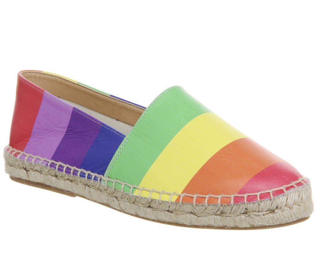 Rainbow Espadrilles