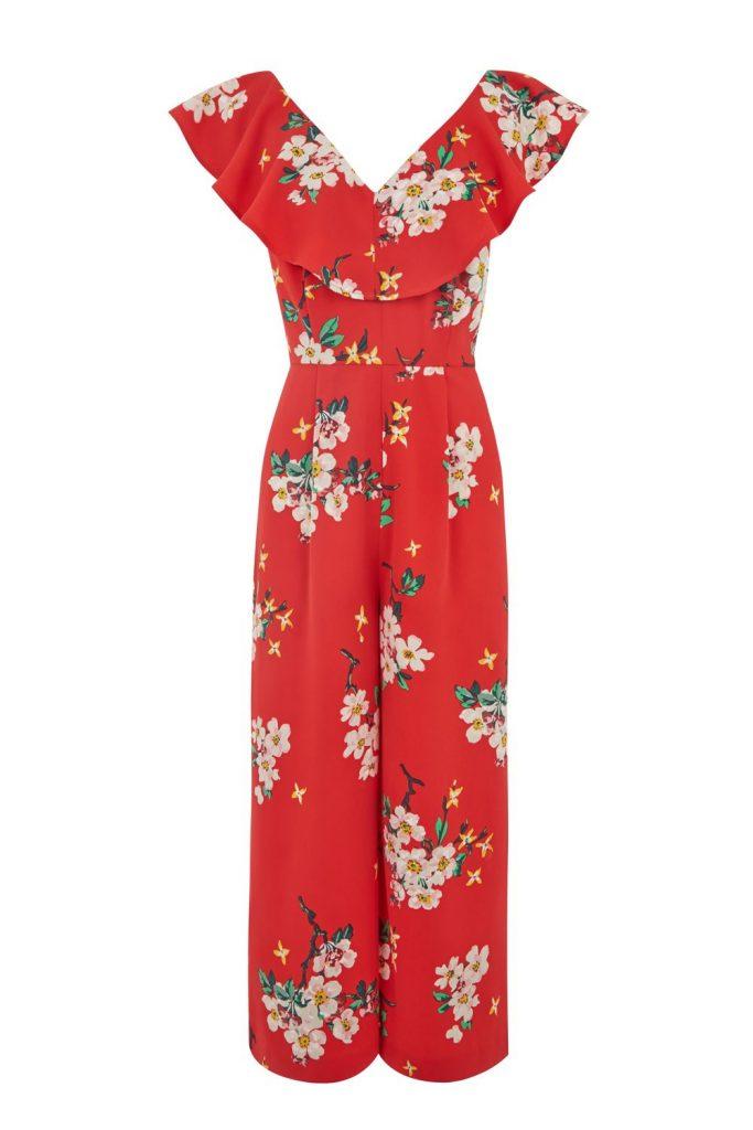 Blossom Print Jumpsuit