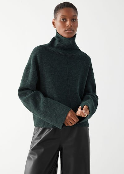 & Other Stories Knitwear - green jumper