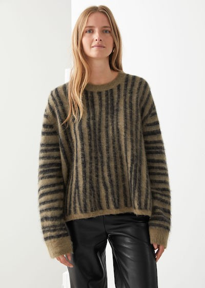 & Other Stories Knitwear - striped jumper